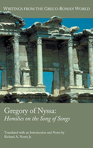 9781589837874: Gregory of Nyssa: Homilies on the Song of Songs (Writings from the Greco-roman World)