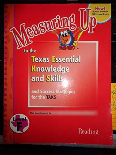 9781589846890: Measuring Up Reading Level F - 6th Grade
