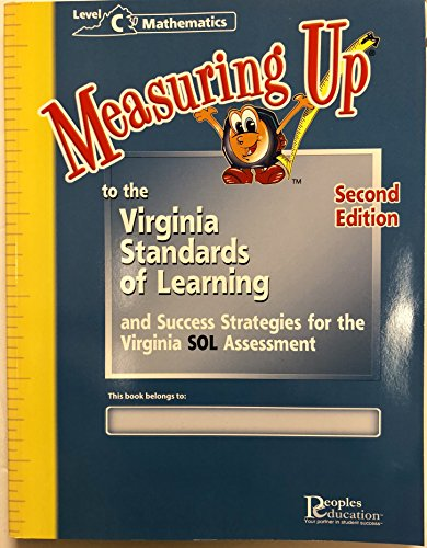 9781589848887: Measuring Up Virginia Standards Level C Mathematics Second Edition