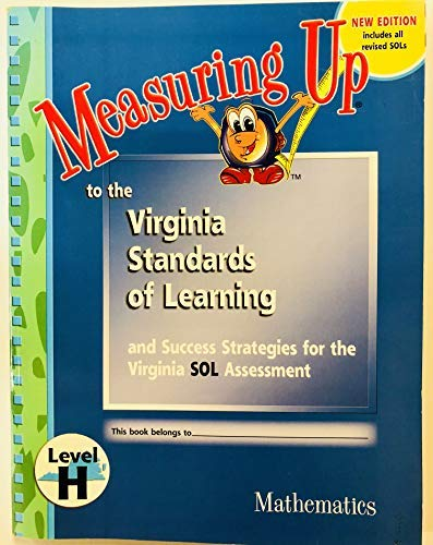 9781589848924: Measuring up to the Virginia Standards of Learning (level H)