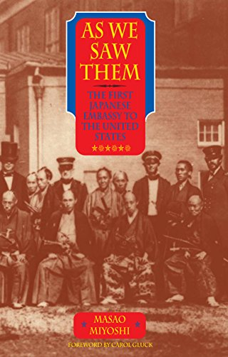 9781589880238: As We Saw Them: The First Japanese Embassy to the United States [Idioma Inglés]