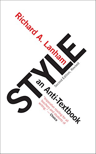 9781589880320: Style: An Anti-Textbook