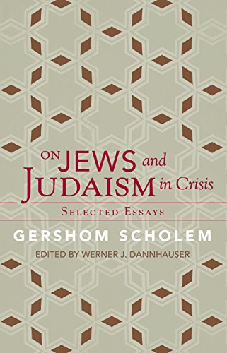 9781589880740: On Jews and Judaism in Crisis: Selected Essays