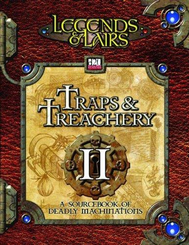 Traps & Treachery II: A Sourcebook of: Fantasy Flight Staff