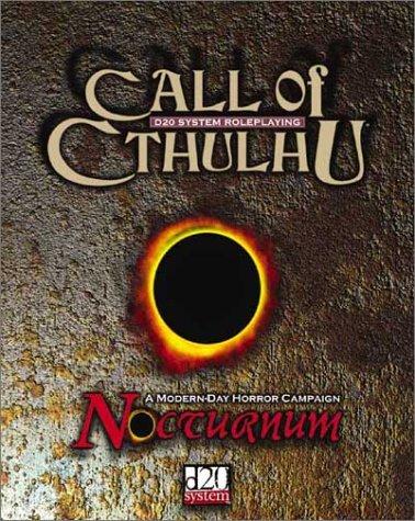 Call of Cthulhu: Nocturnum: Fantasy Flight Games