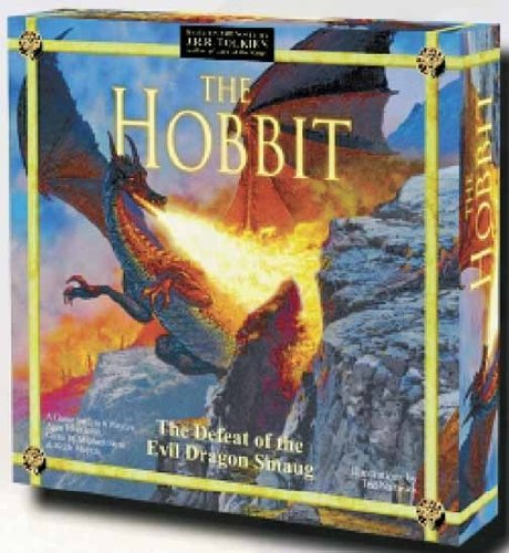 9781589940536: The Hobbit, The Defeat of the Evil Dragon Smaug Boardgame