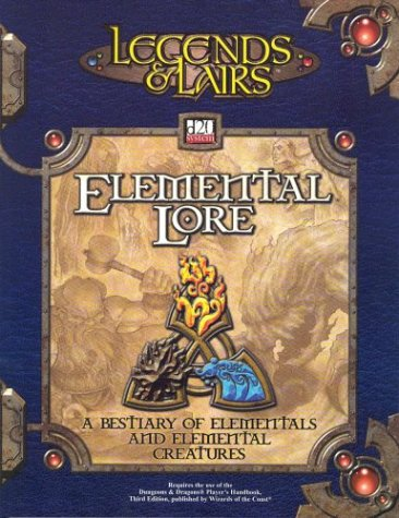 9781589941694: Legends & Lairs: Elemental Lore