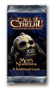 9781589942349: Masks of Nyarlathotep Call of Cthulhu Ccg Booster