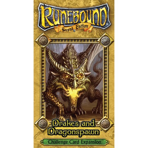 9781589943155: Runebound: Drakes and Dragonspawn Challenge Card Expansion