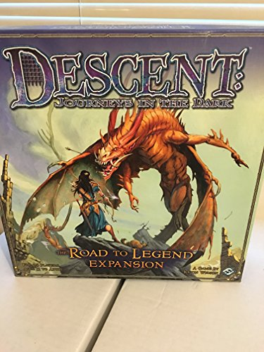 9781589943599: Descent: Journeys in the Dark: The Road to Legend Expansion [With Game Pieces and Gameboard]