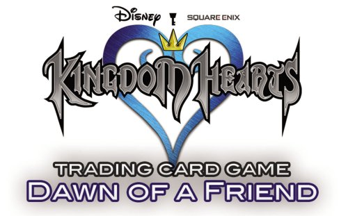 9781589944152: Kingdom Hearts Trading Card Game, Dawn of a Friend Key Pack