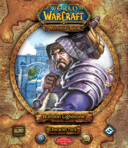 9781589944695: World of Warcraft: The Adventure Game - Brandon Lightstone Character Pack