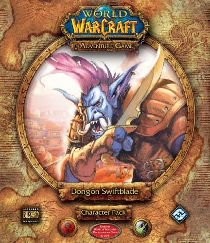 9781589944701: World of Warcraft : The Adventure Game: Dongon Swiftblade Character Pack