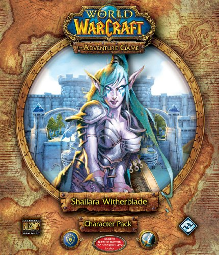 9781589945920: World of Warcraft: The Adventure Game - Shailara Witherblade Character Pack