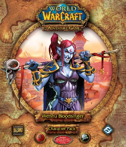9781589945944: World of Warcraft: The Adventure Game - Wennu Bloodsinger Character Pack