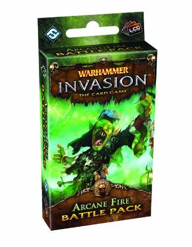9781589947306: Warhammer Invasion The Card Game: Arcane Fire Battle Pack