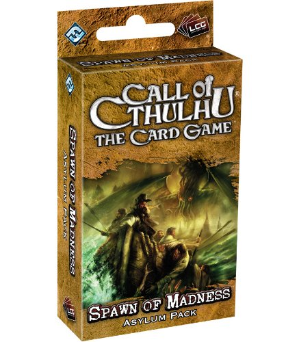 9781589947337: Call of Cthulhu The Card Game: Spawn of Madness Asylum Pack (Living Card Games)