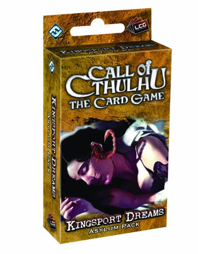 9781589947344: Call of Cthulhu: Kingsport Dreams Asylum Pack (Living Card Games)