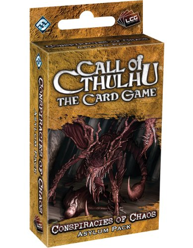 9781589947351: Call Of Cthulhu LCG: Conspiraces Of Chaos Asylum Pack (Revised Edition)