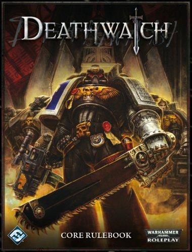 warhammer 40k rpg deathwatch core rulebook by watson ross