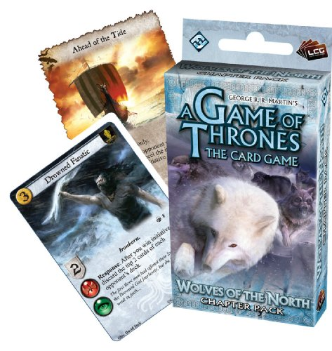 9781589948501: A Game of Thrones: The Card Game: Wolves of the North Chapter Pack