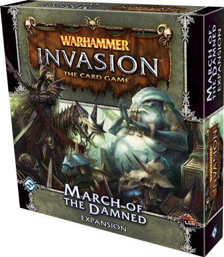 9781589949423: Warhammer Invasion The Card Game: March of the Damned Expansion