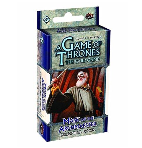 9781589949607: Game Of Thrones: Mask Of The Archmaestar Chapter Pack - Juego de cartas Juego De Tronos (Fantasy Flight Games FFGGOT72) [Importado]
