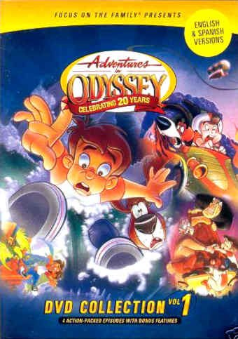 9781589974937: Adventure In Odyssey DVD Collection Vol. 1