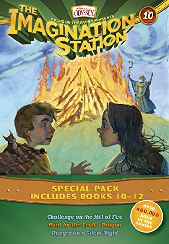 Imagination Station Books 3-Pack: Challenge on the Hill of Fire / Hunt for the Devil's ...