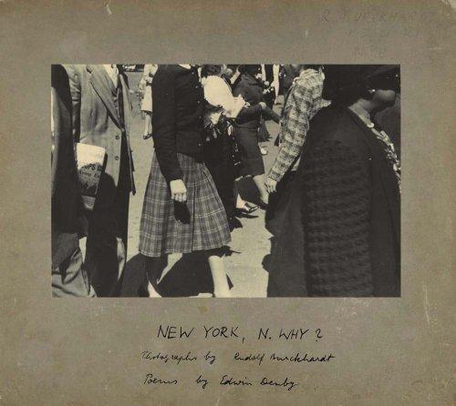 New York, N. Why?.: Burckhardt, Rudy