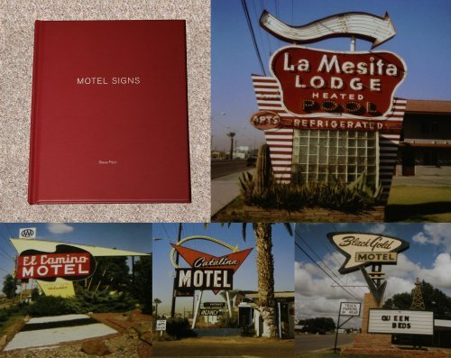 9781590053256: Steve Fitch: Motel Signs (One Picture Book #71, with Print)