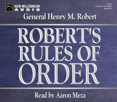 9781590074800: Robert's Rules of Order