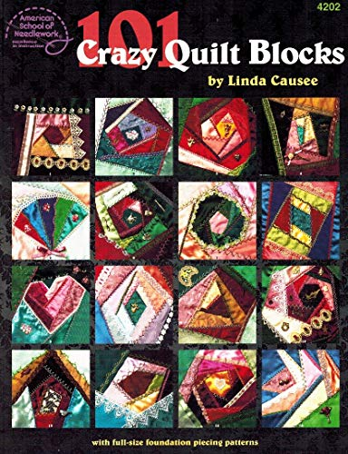 9781590120125: 101 Crazy Quilt Blocks