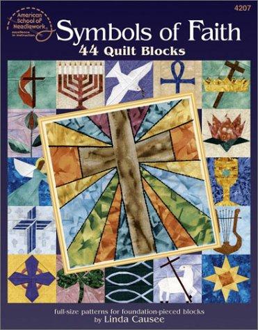9781590120224: Symbols of Faith: 44 Quilt Blocks