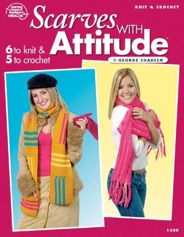 Knit & Crochet Scarves with Attitude: Wesley, Kathy