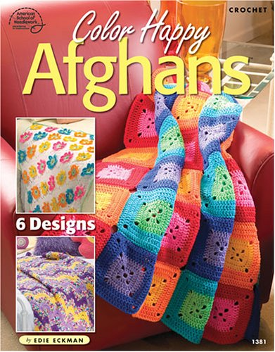 9781590121238: Color Happy Afghans