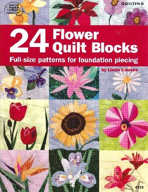 9781590121269: 24 Flower Quilt Blocks