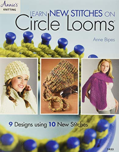 9781590121924: Learn New Stitches on Circle Looms