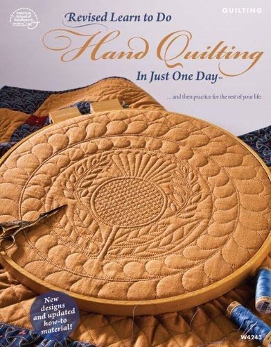 9781590122303: Revised Learn to Do Hand Quilting in Just One Day