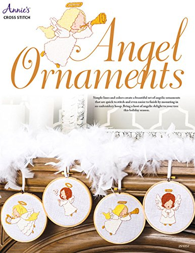 Angel Ornaments Cross Stitch: Annie's