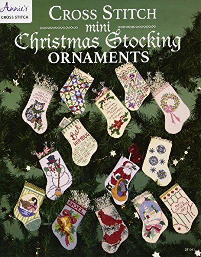 9781590122709: Cross Stitch Mini Christmas Stocking Ornaments
