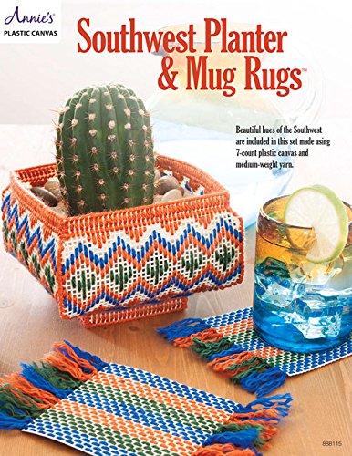 9781590123355: Southwest Planter & Mug Rugs (Annie's Plastic Canvas)
