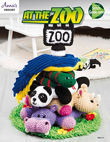 9781590124994: At The Zoo (Annie's Crochet)