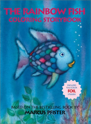 The Rainbow Fish Coloring Storybook: Based on Books by Pfister
