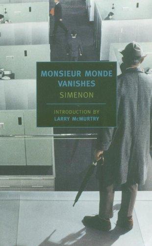 9781590170960: Monsieur Monde Vanishes (New York Review Books Classics)