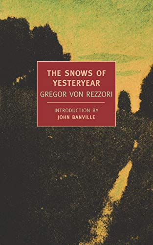 9781590172810: The Snows of Yesteryear (New York Review Books Classics)