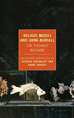 9781590174883: Religio Medici and Urne-Buriall (New York Review Books Classics)