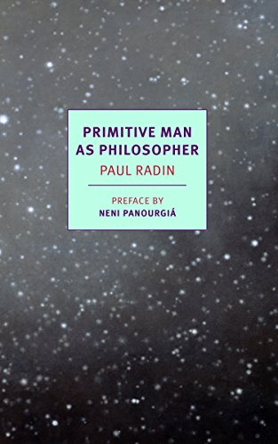 9781590177686: Primitive Man as Philosopher (NYRB Classics)