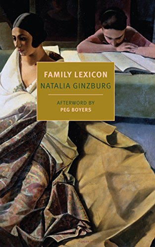 9781590178386: A Family Lexicon (New York Review Books Classics)