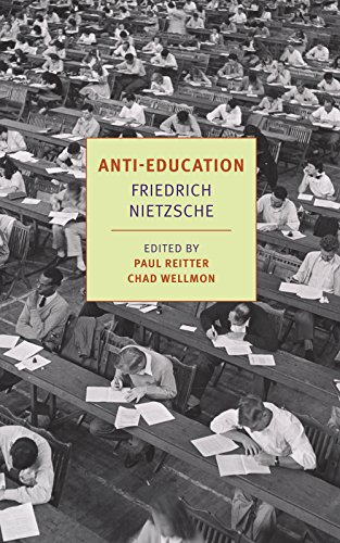 9781590178942: Anti-Education: On the Future of Our Educational Institutions (New York Review Books Classics)